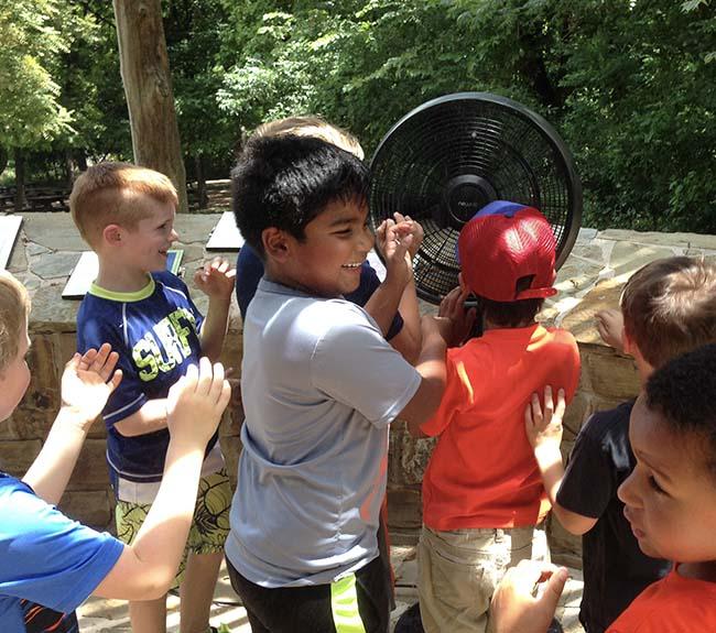 Kids playing at Summer Camp